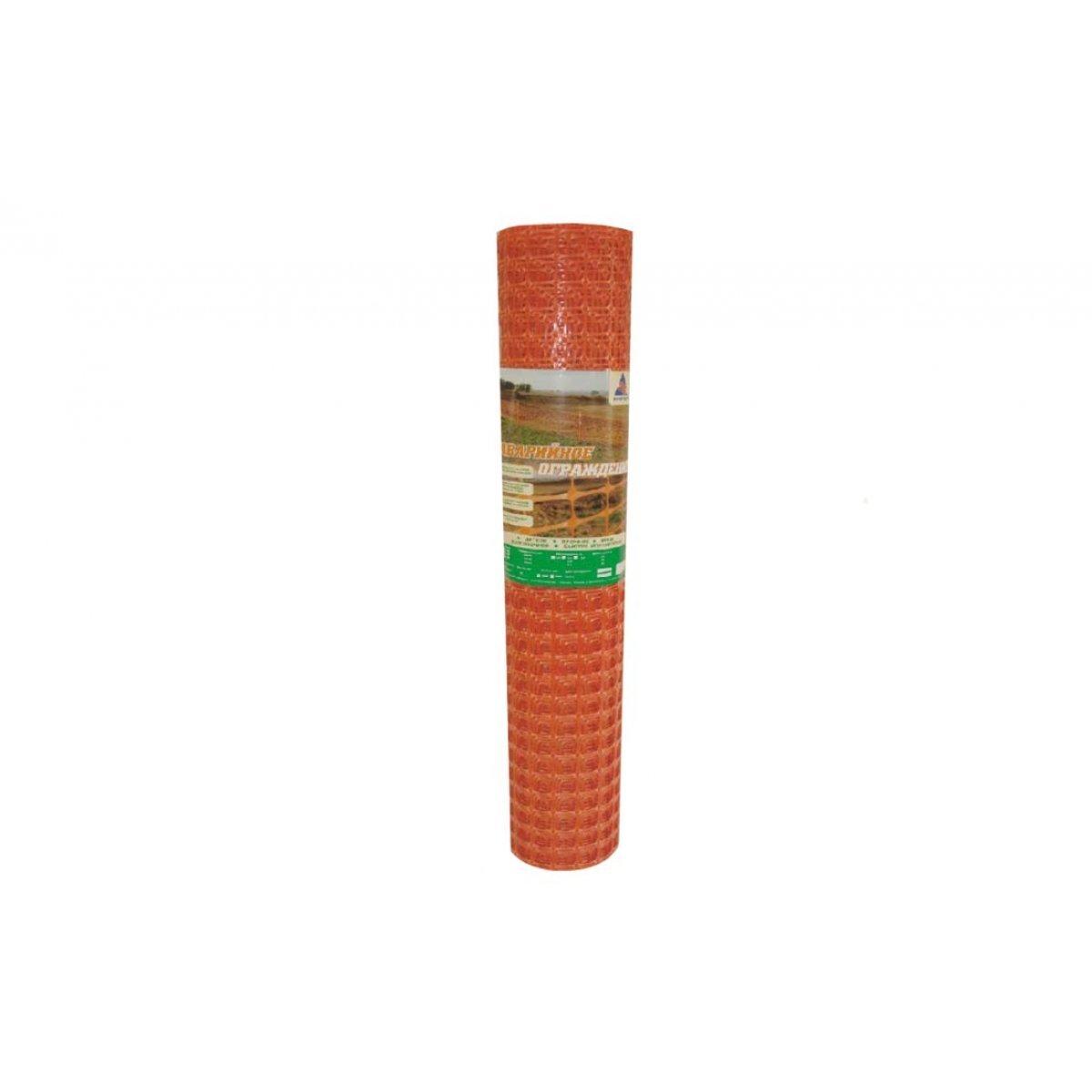 А-45/1,3/25 Аварийное ограждение 40*45мм  (рулон 25м), оранжевое