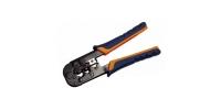 TM1-B10H ITK Инструмент обжим для RJ-45,12,11 без храп мех сине-оранж