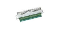 Плинт 2/10 типа LSA-PLUS, дополнительная винтовая клемма, размыкаемые контакты