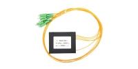 Разветвитель РО-1х4 -PLC -SM/2,0 -1,0 м-SC/APC  (-40+70 С)