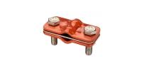 GALMAR GL-11563A — зажим контрольный для соединения токоотводов 'проволока + проволока' (крашенная оцинкованная сталь)
