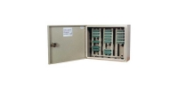 Шкаф распределительный телефонный пристенный навесной ШРП-150-2М (пустой) ССД